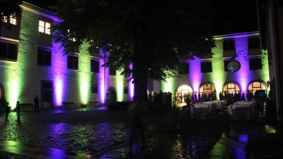 Illumination Rathaus beim Wertheimer Stadterlebnis 2014